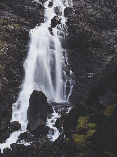 Trollstigen Trollstigen Norway Waterfall