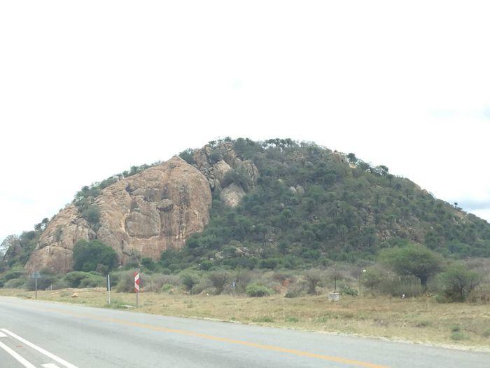 Nature Road Ntsudzu Matoks Nature Tree Mountain Day The Way Forward Outdoors Stones Beauty EyeEm Best Shots EyeEmNewHere EyeEm Nature Lover Scenics Sky One Person Beauty In Nature People