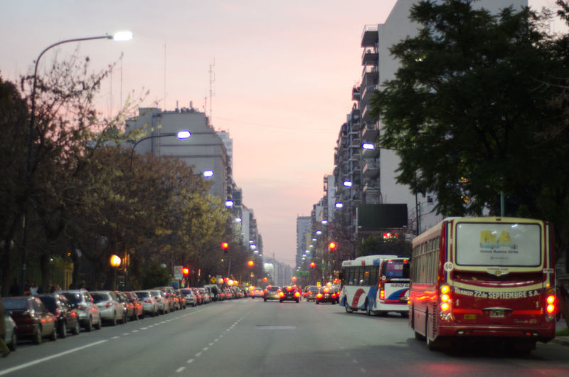 Caballito, Buenos Aires, Argentina Argentina Argentina Photography Barrio De Caballito Argentina Building Exterior Car City City Life City Street City View  No People Outdoors Road Sunset Travel Destinations