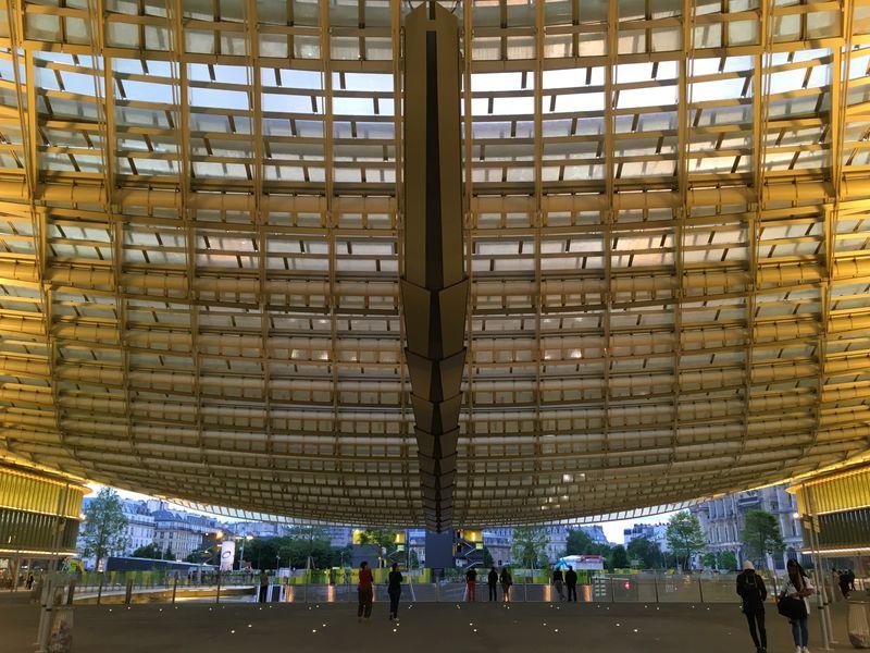 La canopée des halles Lacanopee Canopée Les Halles Leshalles Chatelet Les Halles Paris Perspective Kubrick Kubrick Inspired Parisphoto Miles Away Parismonamour