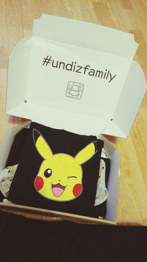 Yellow Day Pokémon Pikachu Homewear Undiz Undiz_France
