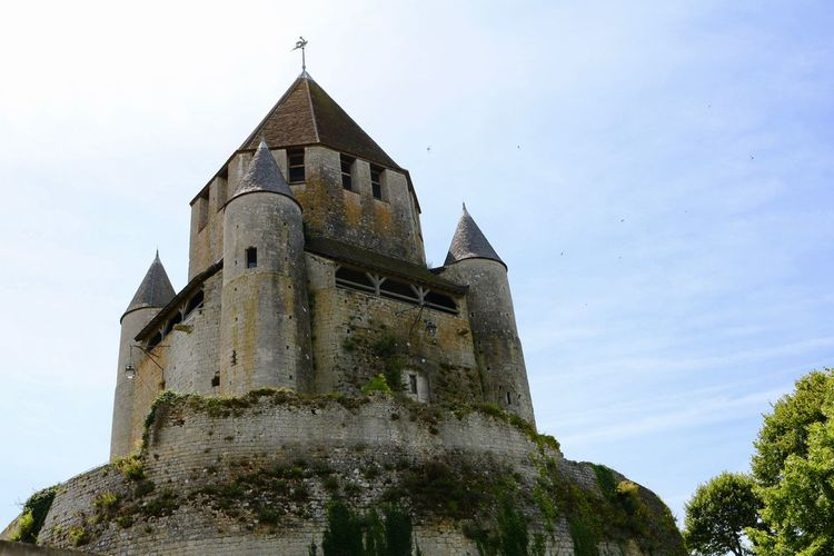 Ancient Architecture Building Exterior Built Structure Castle History No People Provins Tower