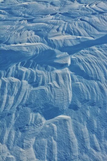 Backgrounds Pattern Textured  Close-up Cold Temperature Nature Outdoors Snowscape Snow Ice Arctic Barren Landscape Windblown Tundra Canada