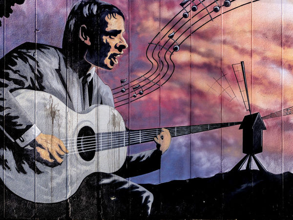 Graffiti Graffiti Art Graffiti Wall Guitar Music Musical Instrument Street Street Art Street Art/Graffiti Wall