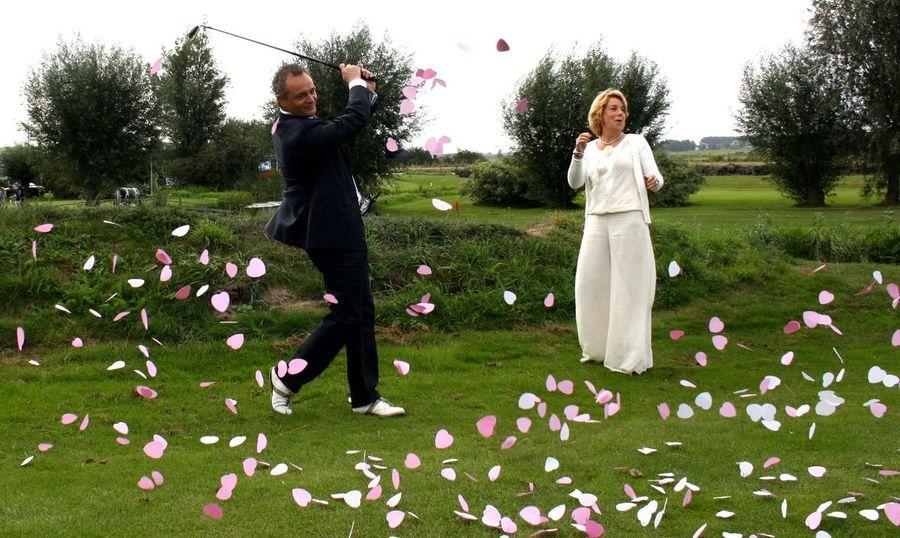 Fairway Golf Golfing Golfing⛳ Green Hearts Love Marriage  Sport