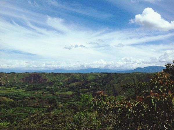 Cauca Colombia Mountains
