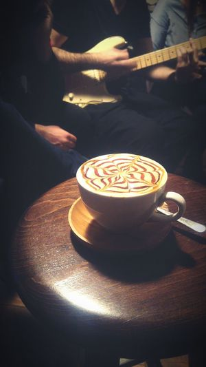 Coffee - Drink Food And Drink Heat - Temperature Drink Human Hand Close-up Indoors  People Day Eye Em Gallery EyeEmTurkey Cup Of Coffee Coffee Cafe Editor Art Book Drinking Coffee Latte Latte Art Latte Macchiato