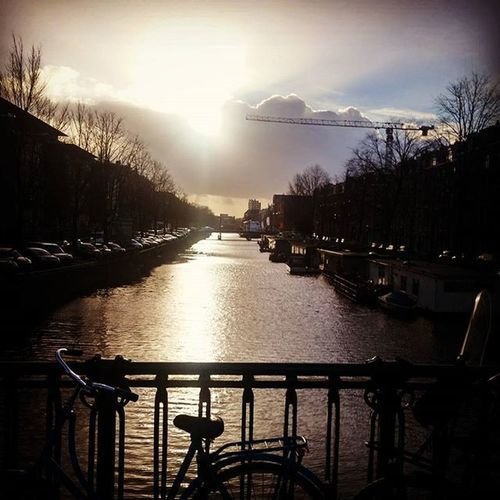 That time there was sunlight in Amsterdam! Amsterdam Europe