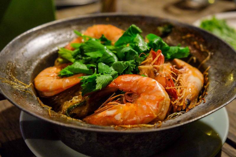 เรือนลำพู Abundance Baked Shrimp Vermicelli Bowl Composition Food Food And Drink Freshness Healthy Eating Healthy Lifestyle Indulgence Meal Organic Preparation  Ready-to-eat Shrimp Shrimps Temptation Variation Vegetable Vermicelli