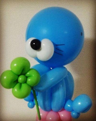 大好き なほのぼの ちゃん♡ あらいぐまくん シマリス ラッコ ぼのぼのちゃん 癒される 可愛すぎる バルーン バルーンアート Balloon Balloonart 風船 4ツ葉のクローバー クローバー 幸せ キャラクター あにめ