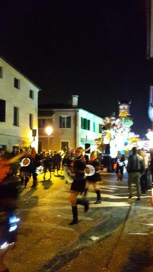 Illuminated People Adult Dancing The Night Away