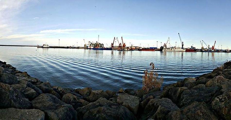 Bandar Anzali Sea Seaside Sky Bluesky Stone Port Iranissafe Iran Gilan Anzali