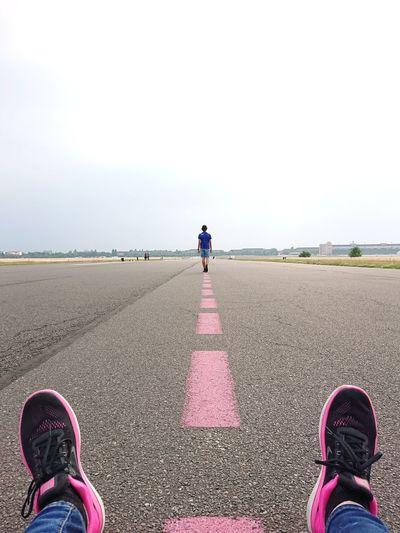 Walk the (pink)
