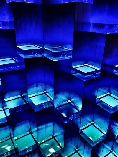 Glass structure Night Astronomy Space Galaxy Futuristic Architecture Architecture No People Symmetry Illuminated Hewelianum