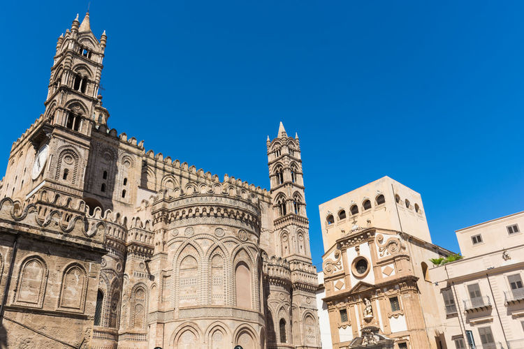 Cathedral Palermo Palermo Cathedral Palermo, Italy Palermo,Sicilia Palermocity Palermo❤️ Architecture Blue Building Exterior Built Structure Clear Sky Day History Low Angle View No People Outdoors Palermo Shooting Place Of Worship Religion Sky Spirituality Travel Destinations
