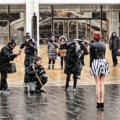 During NYFW 2015 at Lincol Center Streetphotography Fashionweek Nyfw Lincolncenter paparazzi photography