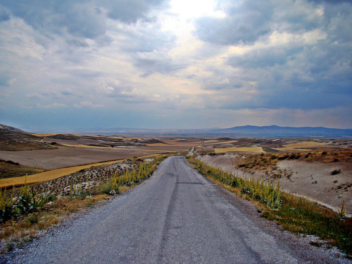 Dereköy, Eskişehir Tranquility Tranquil Scene Tranquil Scene Nature Remote Diminishing Perspective Road The Way Forward Scenics Landscape Transportation Sky No People Direction Outdoors Mountain Beauty In Nature Day