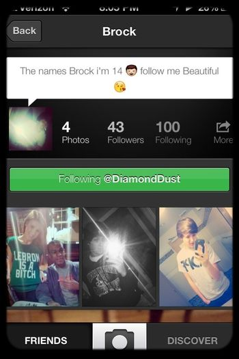 Follow Him! He's really cool and Takes awesome pics! Go! @diamonddust