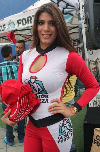 Beautiful Girl Edecan Futbol Pasion LigaBBVA Play Semifinal Soccer TuzosvsLeón