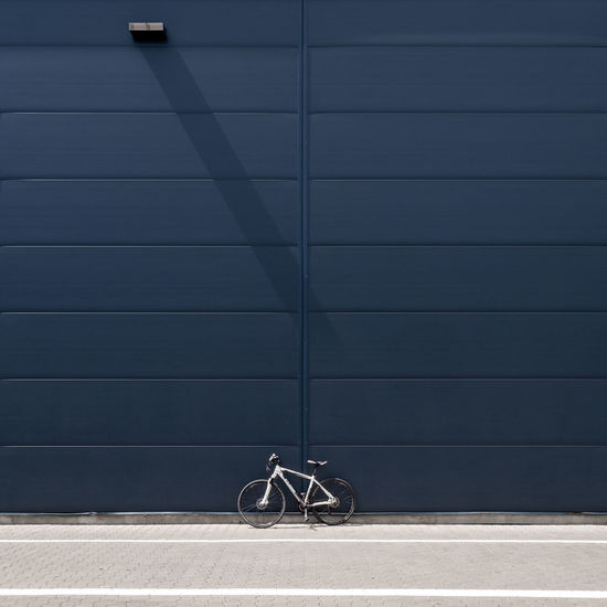 Mywhitebike Mywhitebike Fujix_berlin Ralfpollack_fotografie Minimalism Minimalist Photography  Architecture Built Structure Building Exterior No People Outdoors Bycicle Mode Of Transportation Transportation Shadow Wall - Building Feature Land Vehicle Bicycle City Stationary Wheel Day Concrete Travel