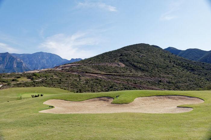 Golf course Golf Golf Club Golf Course Green Landscape Mountain Range Outdoors Scenics Fairway Sandtrap