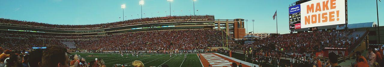 Texas Longhorns Longhornsnation College Football Baylor University Baylor Baylor & UT Game.  Panorama Panaram Photo