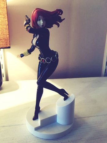 Black Widow Bishoujo BlackWidow Scarlett Johansson Kotobukiya Bishoujoheaven Bishoujo Statue Nerd Geek