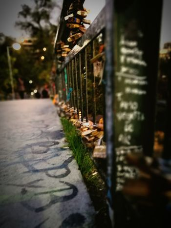 Puente Candados De Amor Verde Chile♥ Santiago First Eyeem Photo