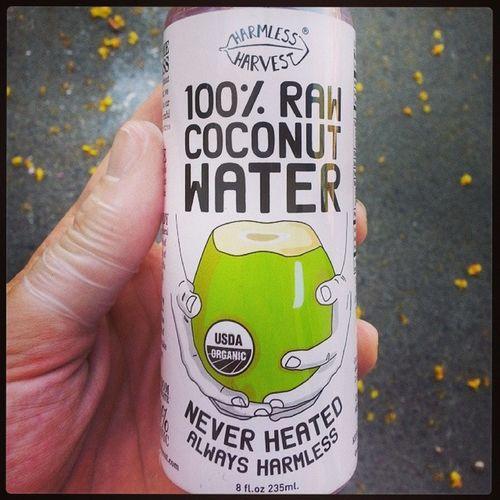 New love. Raw Organic Coconut Pinkcoconutwater
