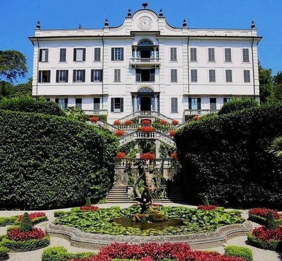 Villa Carlotta Tree Politics And Government Luxury Flowerbed Façade Architecture Building Exterior Sky