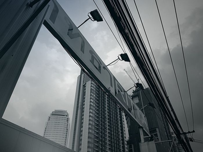 Bangkok Thailand. Thailand Thonglor Summer Bangkok Business Finance And Industry Outdoors No People Building Exterior Day City