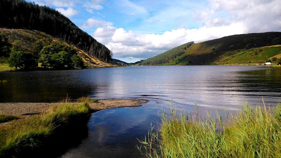 Heaven is a Lake in Snowdonia Wales Nature Waterscape
