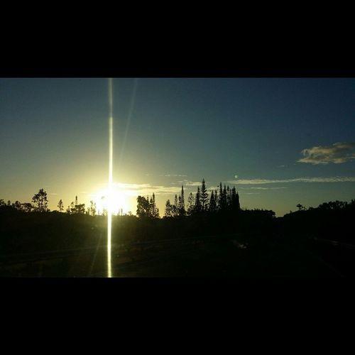 Appreciate all things💗 Sunrise 808love Bigislandlove Morningdrivetowork Beautifulxhi Puna Nofilter No_edits NaturalBeauty Lovemyhawaii