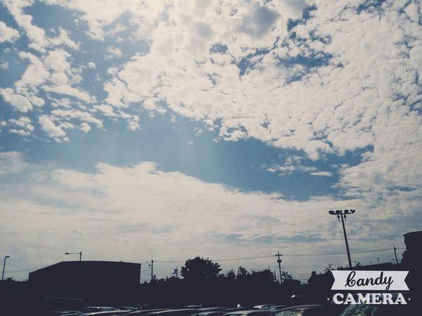 あっつい!すごく暑い! Sky Taking Photos