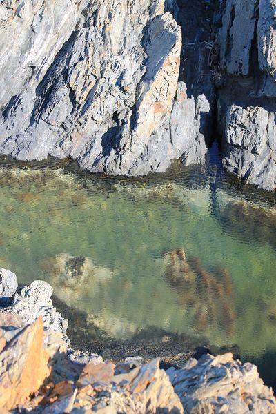 Sea Watter Impressionism Greenblue EyeEm Nature Lover Nature_collection Nature Nature Photography Beauty In Nature Water Water Reflections Like Painting Rock Rock Formation Seascape Colors Hanging Out Taking Photos Enjoying Life Check This Out EyeEm Best Shots No Filter No Edit/no Filter Relaxing Relax
