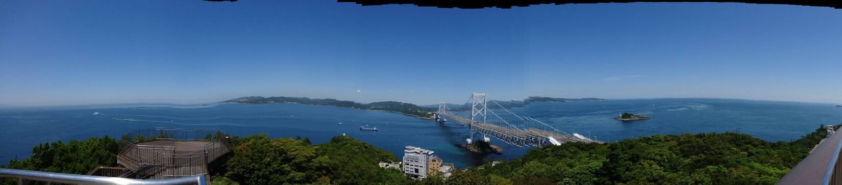 My Year My View Failed Photo Panorama Panoramashot パノラマ撮影 失敗例 鳴門海峡大橋 鳴門海峡 Seascape Sea And Sky Landscape Tokushima Travel Photography From My Point Of View 徳島 鳴門 旅写真 June 2016