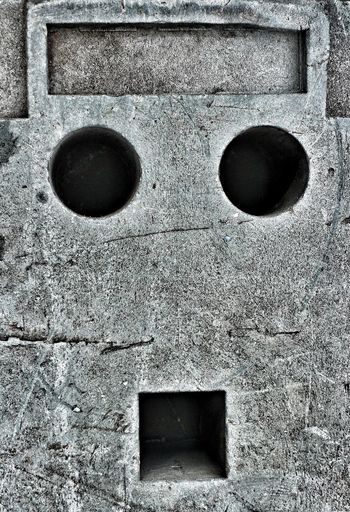 Concrete Fresh On Eyeem  Smiley Blockhead Funny Faces Of EyeEm Faces In Places Rock And Hard Place Booh  Booh! Hole In The Wall Holeinthewall Hahaha Stoned Stone Face Face Up