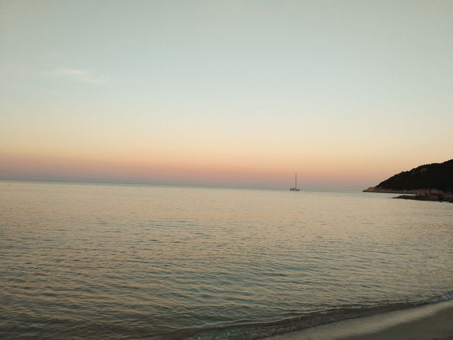 Suntset Sardinia Cala Sinzias