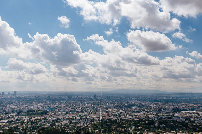 Aerial View Architecture Backgrounds Building Exterior Built Structure City City Cityscape Cloud - Sky Copy Space Crowded Day Development Nature No People Outdoors Residential Building Sky Urban Skyline West Coast