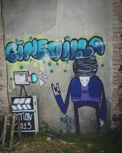 Graffiti Cinevilla Film City Latvia