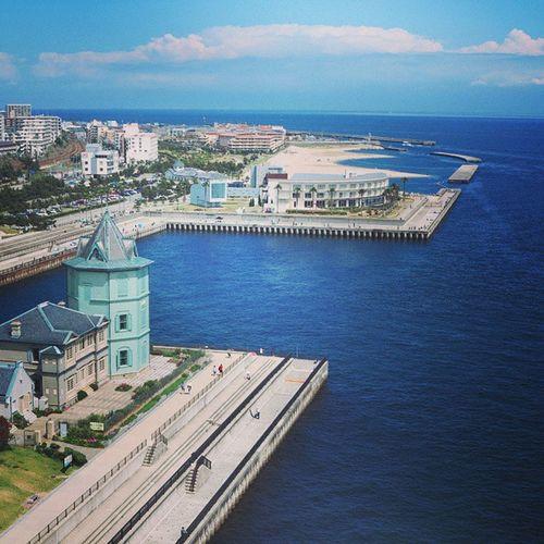 คิดถึงญี่ปุ่น ไปดูวิวสวยๆอลังๆที่ Maiko Marine Promenade Kobe japan ocean