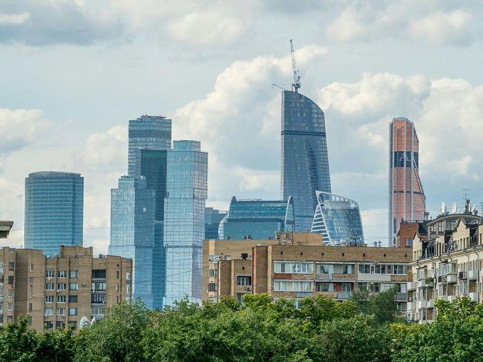 Moscow Москва сити
