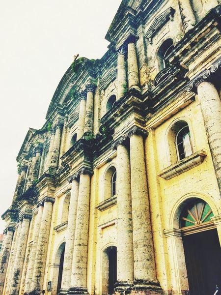 Sunday Afternoon Taal, Batangas Largest Catholic Church Architecture