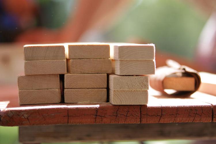 Abrasive Workshop Abrasive Paper Close-up Homework Stack Wood - Material Workbench