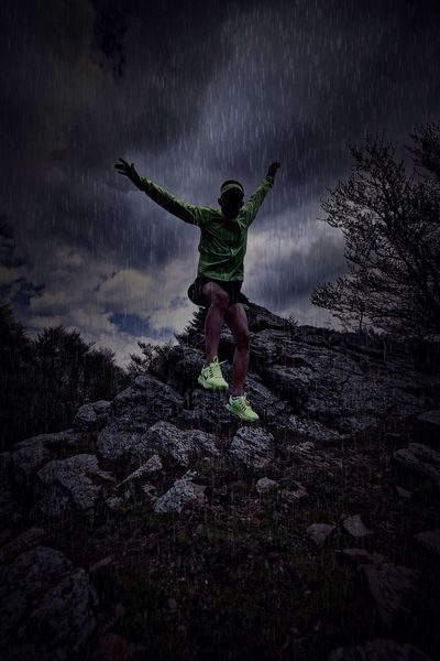 Sports Photography Raining Trail Running Sports