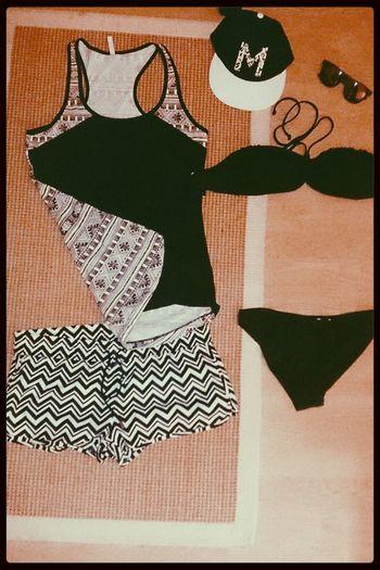 Ready for summer :D Fashion Summer ☀ Black & White SNAPBACK♡