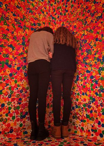 Sold On EyeEm Market Sold On Getty Images Girls Having Fun Dots Spots Colour Colourful