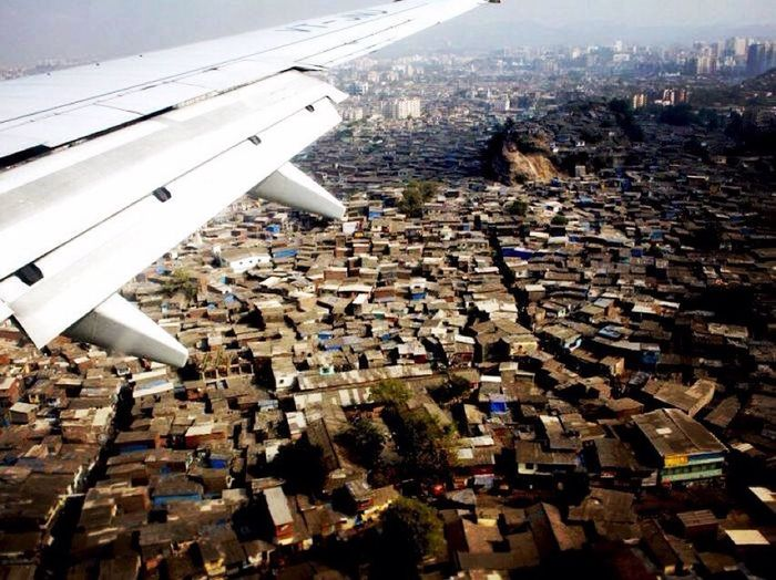 In The Air Abov Bombay Plane Bombay India View Traveling