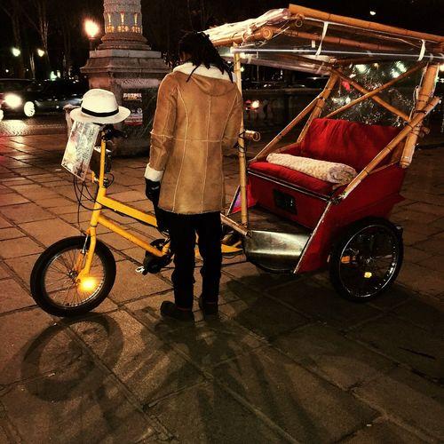 Tambien en Paris Night Mode Of Transport Occupation First Eyeem Photo EyeEmNewHere The Street Photographer - 2017 EyeEm Awards