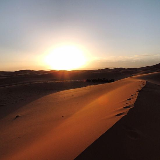 43 Golden Moments Sunset In The Desert Deserts Around The World Morocco